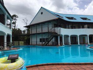 プールと施設