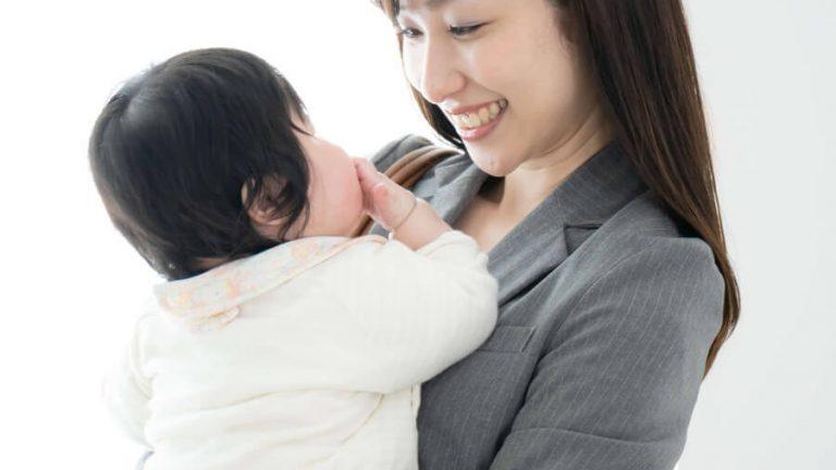 働くママと赤ちゃん